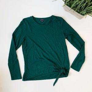 J. Crew Mercantile Long Sleeve Shirt Green Medium